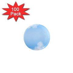 Sky Cloud Blue Texture 1  Mini Magnets (100 Pack)  by Nexatart
