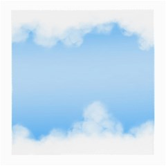 Sky Cloud Blue Texture Medium Glasses Cloth (2 Side)