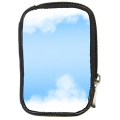 Sky Cloud Blue Texture Compact Camera Cases by Nexatart