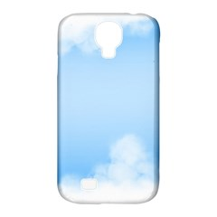 Sky Cloud Blue Texture Samsung Galaxy S4 Classic Hardshell Case (pc+silicone) by Nexatart