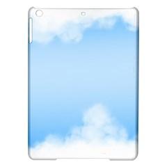 Sky Cloud Blue Texture Ipad Air Hardshell Cases by Nexatart
