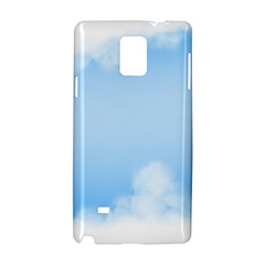 Sky Cloud Blue Texture Samsung Galaxy Note 4 Hardshell Case