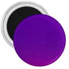 Halftone Background Pattern Purple 3  Magnets