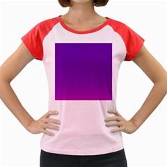 Halftone Background Pattern Purple Women s Cap Sleeve T Shirt