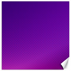 Halftone Background Pattern Purple Canvas 20  X 20