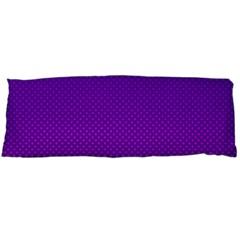 Halftone Background Pattern Purple Body Pillow Case Dakimakura (two Sides)