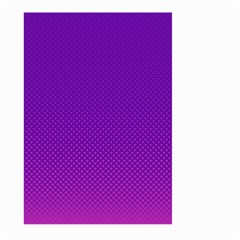 Halftone Background Pattern Purple Large Garden Flag (two Sides)