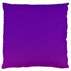 Halftone Background Pattern Purple Large Cushion Case (two Sides)