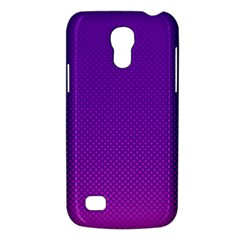 Halftone Background Pattern Purple Galaxy S4 Mini