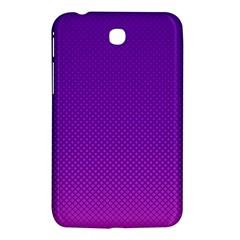 Halftone Background Pattern Purple Samsung Galaxy Tab 3 (7 ) P3200 Hardshell Case