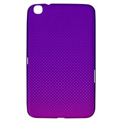 Halftone Background Pattern Purple Samsung Galaxy Tab 3 (8 ) T3100 Hardshell Case