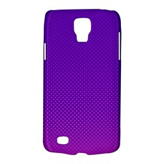 Halftone Background Pattern Purple Galaxy S4 Active by Nexatart