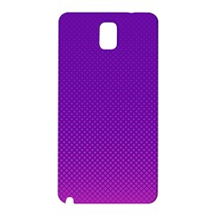 Halftone Background Pattern Purple Samsung Galaxy Note 3 N9005 Hardshell Back Case