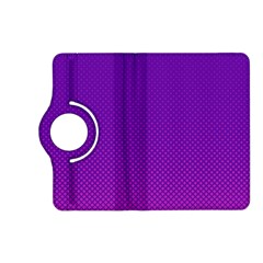 Halftone Background Pattern Purple Kindle Fire Hd (2013) Flip 360 Case