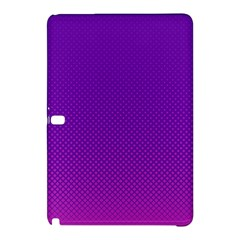 Halftone Background Pattern Purple Samsung Galaxy Tab Pro 10 1 Hardshell Case