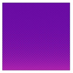 Halftone Background Pattern Purple Large Satin Scarf (square)