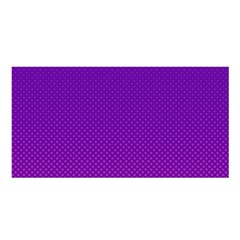 Halftone Background Pattern Purple Satin Shawl