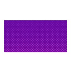 Halftone Background Pattern Purple Satin Wrap