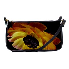 Ranunculus Yellow Orange Blossom Shoulder Clutch Bags by Nexatart