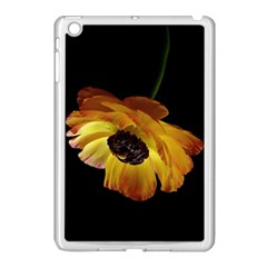 Ranunculus Yellow Orange Blossom Apple Ipad Mini Case (white) by Nexatart
