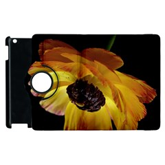 Ranunculus Yellow Orange Blossom Apple Ipad 2 Flip 360 Case by Nexatart