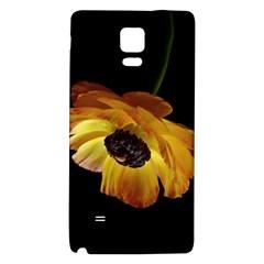 Ranunculus Yellow Orange Blossom Galaxy Note 4 Back Case
