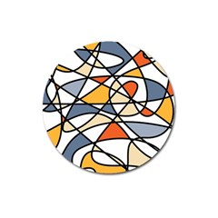Abstract Background Abstract Magnet 3  (round)