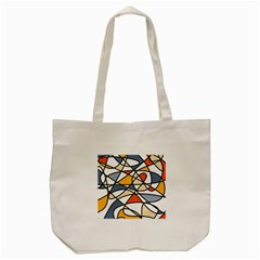 Abstract Background Abstract Tote Bag (cream) by Nexatart