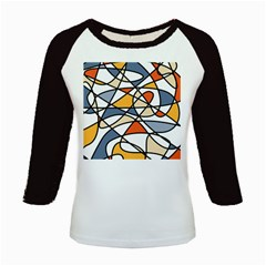 Abstract Background Abstract Kids Baseball Jerseys