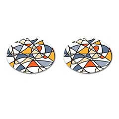 Abstract Background Abstract Cufflinks (oval)