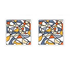 Abstract Background Abstract Cufflinks (square) by Nexatart