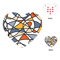 Abstract Background Abstract Playing Cards (heart)