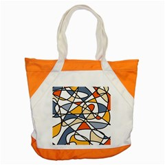 Abstract Background Abstract Accent Tote Bag