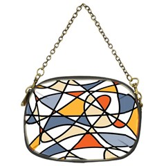 Abstract Background Abstract Chain Purses (one Side)