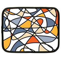 Abstract Background Abstract Netbook Case (xl)
