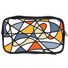 Abstract Background Abstract Toiletries Bags 2 Side by Nexatart