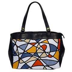 Abstract Background Abstract Office Handbags by Nexatart