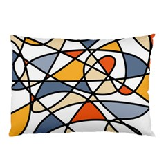 Abstract Background Abstract Pillow Case (two Sides)