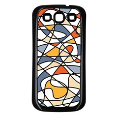 Abstract Background Abstract Samsung Galaxy S3 Back Case (black)