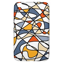 Abstract Background Abstract Samsung Galaxy Tab 3 (8 ) T3100 Hardshell Case