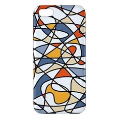 Abstract Background Abstract Iphone 5s/ Se Premium Hardshell Case by Nexatart