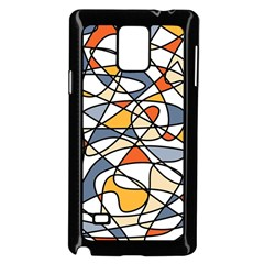 Abstract Background Abstract Samsung Galaxy Note 4 Case (black) by Nexatart
