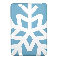 Snowflake Snow Flake White Winter Kindle Fire Hd 8 9