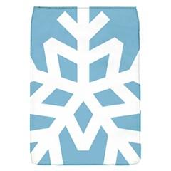Snowflake Snow Flake White Winter Flap Covers (s)