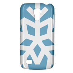 Snowflake Snow Flake White Winter Galaxy S4 Mini by Nexatart
