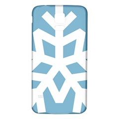 Snowflake Snow Flake White Winter Samsung Galaxy S5 Back Case (white) by Nexatart