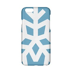 Snowflake Snow Flake White Winter Apple Iphone 6/6s Hardshell Case