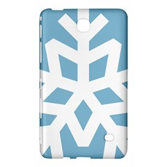 Snowflake Snow Flake White Winter Samsung Galaxy Tab 4 (7 ) Hardshell Case