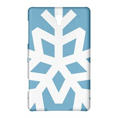 Snowflake Snow Flake White Winter Samsung Galaxy Tab S (8 4 ) Hardshell Case