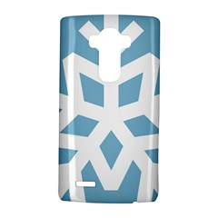 Snowflake Snow Flake White Winter Lg G4 Hardshell Case by Nexatart